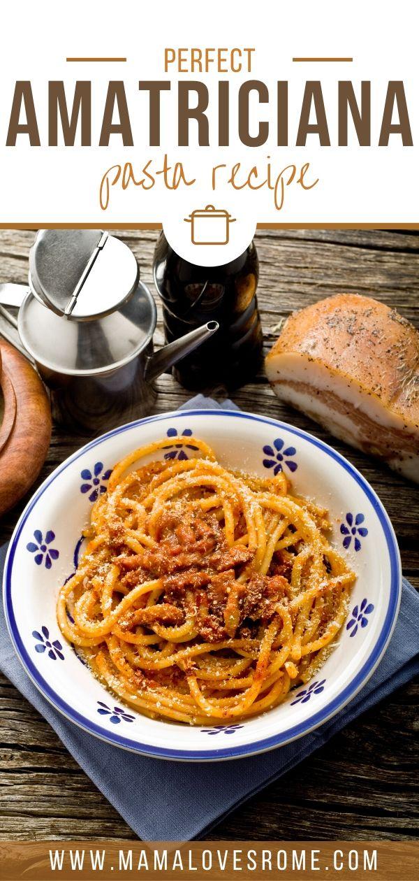 Amatriciana Recipe How To Make Pasta All Amatriciana At Home Mama Loves Rome