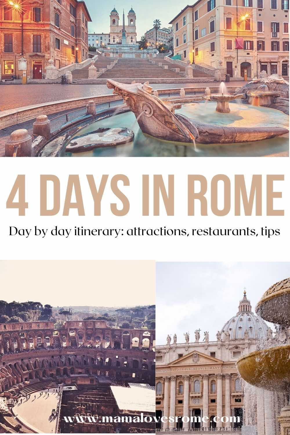 20 days in Rome a fabulous itinerary for first time visitors what ...